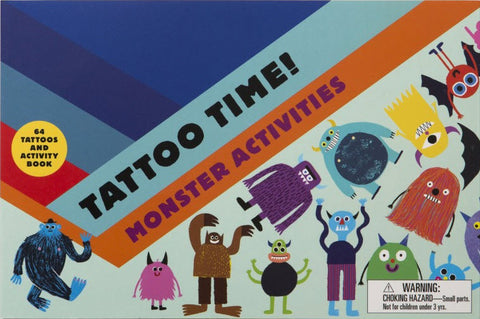 Tattoo Time: Monster Activities