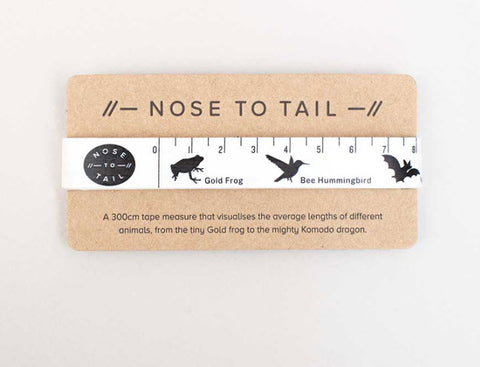 Nose to Tail Tape Measure