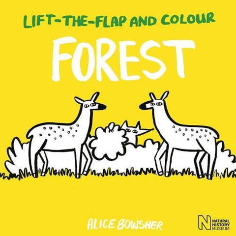 Lift-Flap-And-Colour: Forest