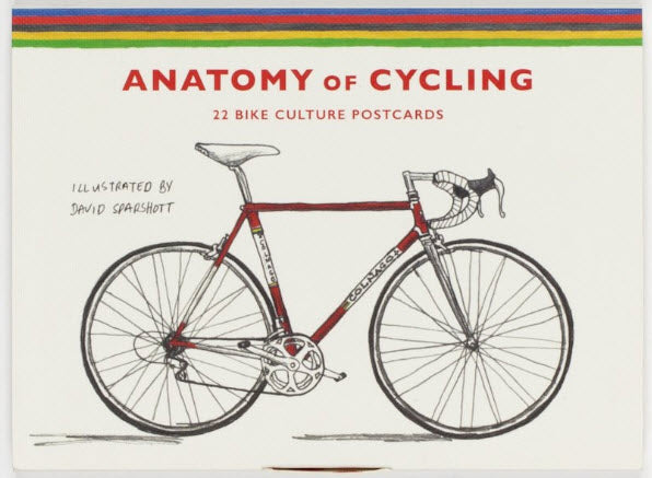 Anatomy Of Cycling 22 Bike Culture Postcards Magma