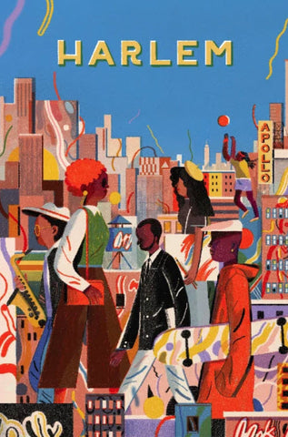 Small Harlem Print By Lisk Feng