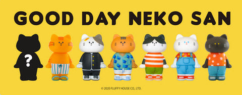 Good Day Neko San Blind Box Series #1