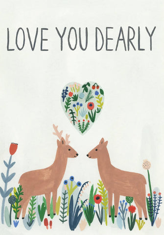 Love You Dearly Card