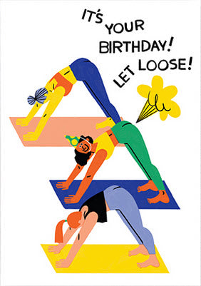 Let Loose Yoga Card