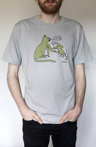I Won't Kill You T-Shirt By David Shrigley