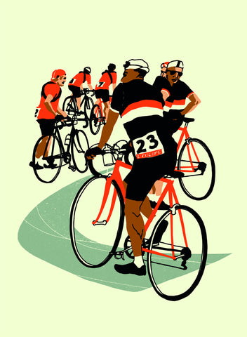 Before the Race Print By Eliza Southwood