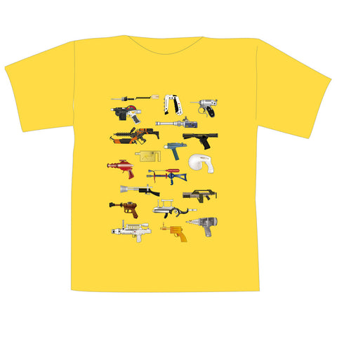 The Space Series: Ray Guns T-Shirt By Federico Babina