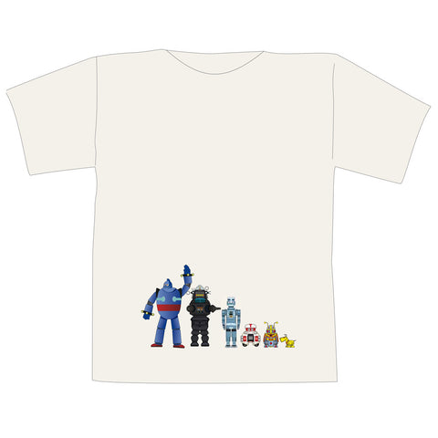 The Space Series: Robots T-Shirt By Federico Babina