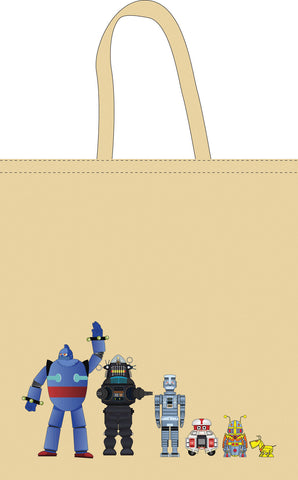 The Space Series: Robots Tote Bag By Federico Babina