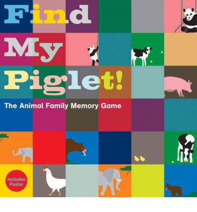 Find my Piglet: The Animal Family Memory Game