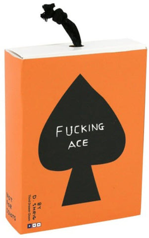 Fucking Ace Soap on a Rope by David Shrigley