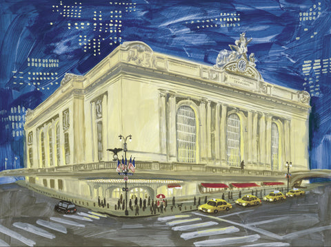 Grand Central Print By Fumi Koike
