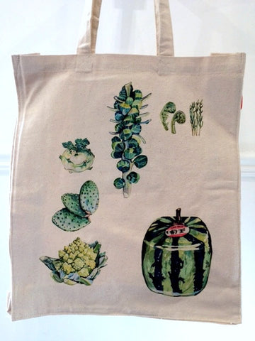 Green Foods By Colour Tote