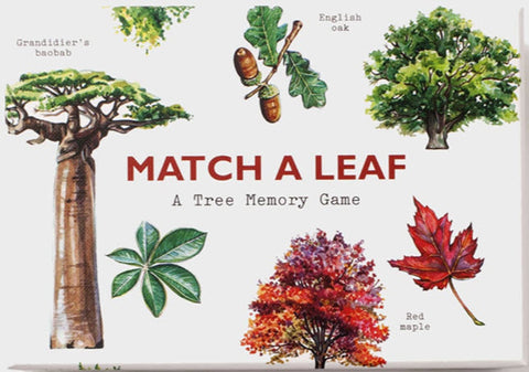 Match a Leaf A Tree Memory Game
