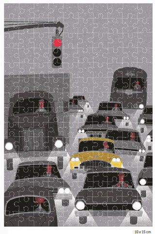 New York In The Winter Jigsaw Puzzle By Ryo Takemasa