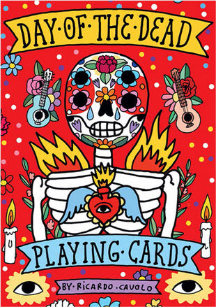 Day of the Dead Playing Cards