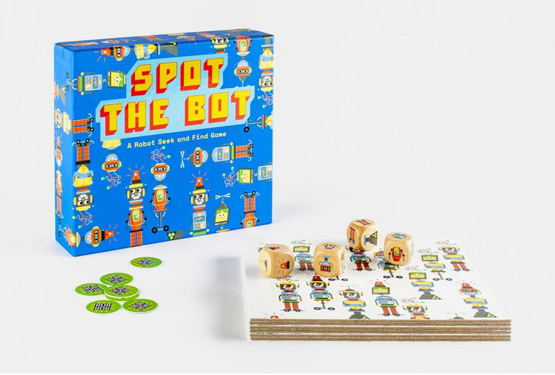 Spot the Bot: A Robot Seek and Find Game – Magma