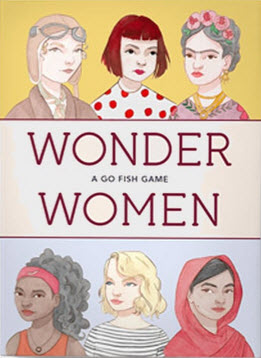 Wonder Women A Happy Families Card Game