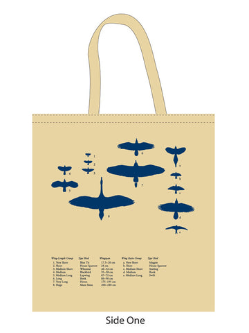 Bird Silhouette Tote Bag By Inca Starzinsky