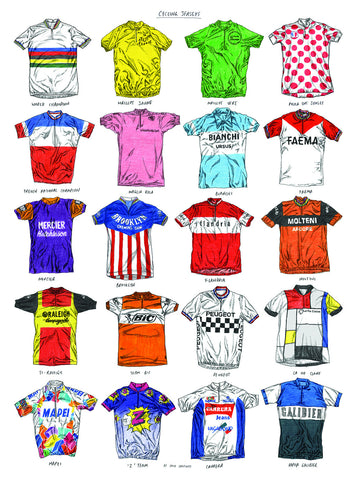 Jerseys Print By David Sparshott