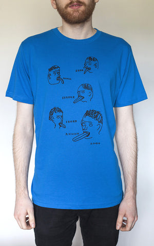 Err Ahh T-Shirt By David Shrigley