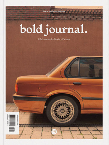Bold Journal #06 Vehicles
