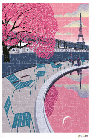 Paris In The Spring Jigsaw Puzzle By Ryo Takemasa