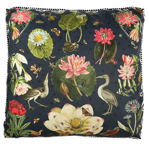 Pink Water Lilies Pillow