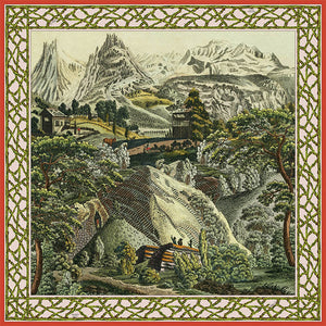 Mountain Scenic Scarf