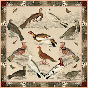 The Spotted Grouse Scarf
