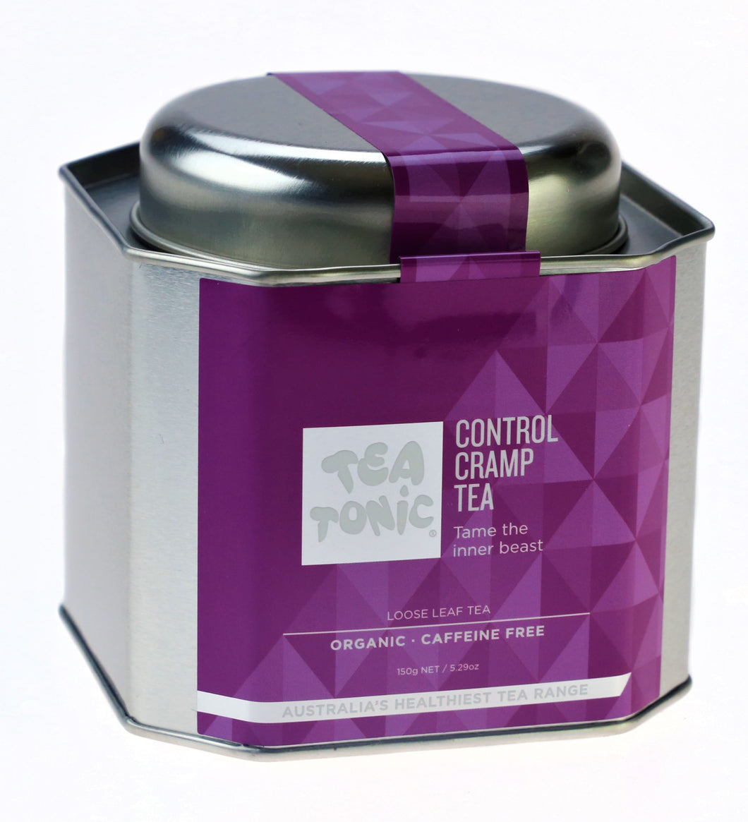Control Cramp Tea Loose Leaf Caddy Tin