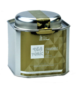 Chamomile Tea Loose Leaf Caddy Tin