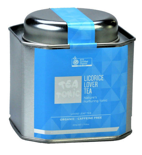 Licorice Lover Tea Loose Leaf Caddy Tin