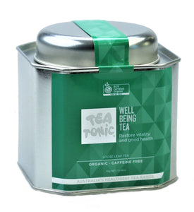 Well Being Tea Loose Leaf Caddy Tin