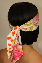 Load image into Gallery viewer, Reversible 100% Silk Edge Laying Scarf, Silk Edge Scarf, Silk Lay It Down Edge Scarf