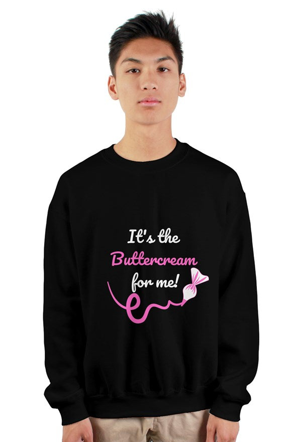 It's the Buttercream crewneck sweatshirt