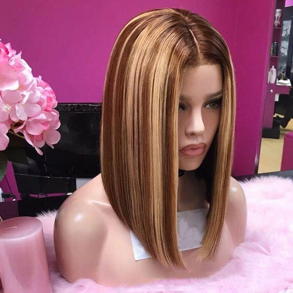 Golden Brown Interphase Wig