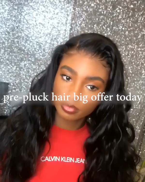Prepluck Daily Black Wave Hair