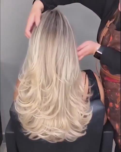 Super Soft And Smooth Golden Wig