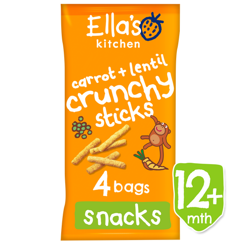 Carrot + Lentil Crunchy sticks (multipack)