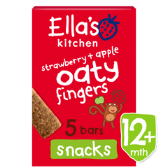 strawberry + apple oaty fingers
