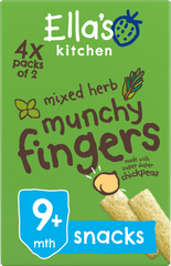 mixed herbs munchy fingers