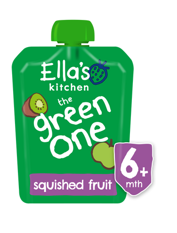 Ella's Kitchen Organic The Green One Smoothie Baby Pouch 6+ Months 90g