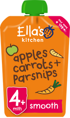 Apples, Carrots and parsnips