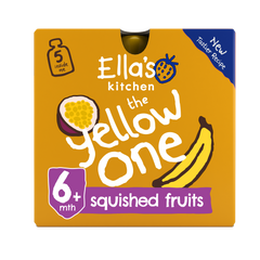 The Yellow one Smoothie Multipack Pouch 6+ Months 5 x 90g