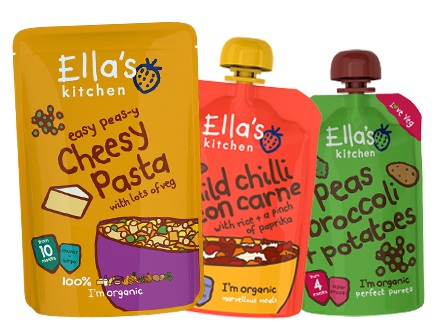 Ella's Kitchen New Range
