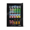 Image of NewAir 90-Can Freestanding Beverage Fridge in Onyx Black