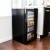 Image of NewAir 126 Can Freestanding Beverage Fridge in Stainless Steel AB-1200B