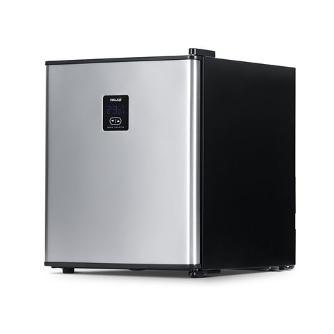 NewAir Froster 90 Can Freestanding Mini Beer Fridge in Stainless Steel