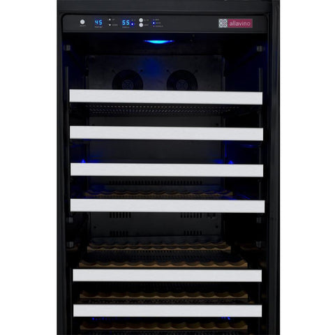 Allavino LH 128-Bottle Single Zone Wine Fridge